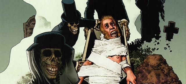 Los espíritus de los muertos, Richard Corben: Edgar Allan Poe Underground