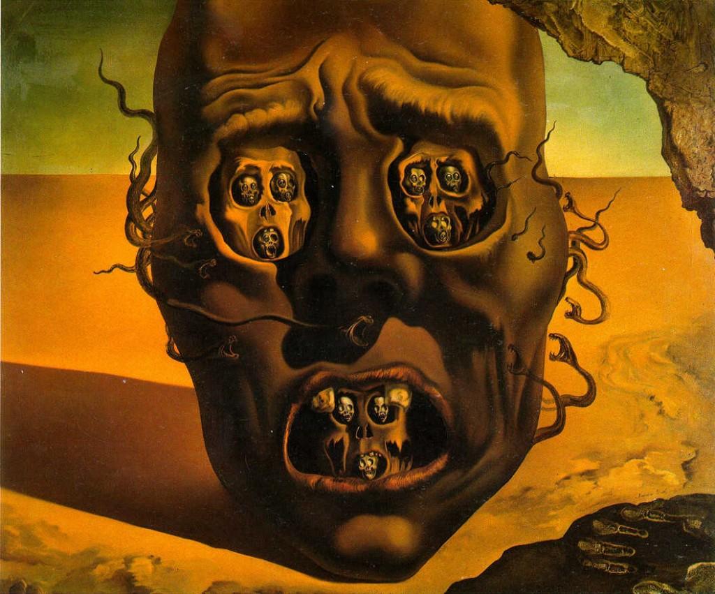 El-rostro-de-la-guerra_Dali