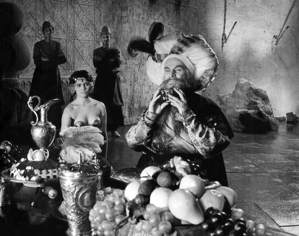 REKOPIS ZNALEZIONY W SARAGOSSIE, (aka , THE SARAGOSSA MANUSCRIPT), fourth from left: Kazimierz Opalinski, 1965