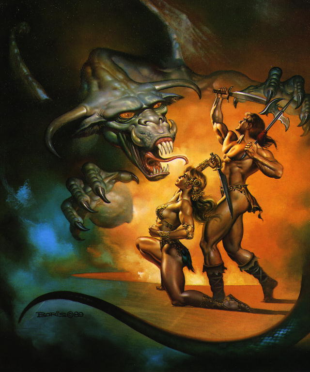 Boris Vallejo - 1989 - Dragon Wars