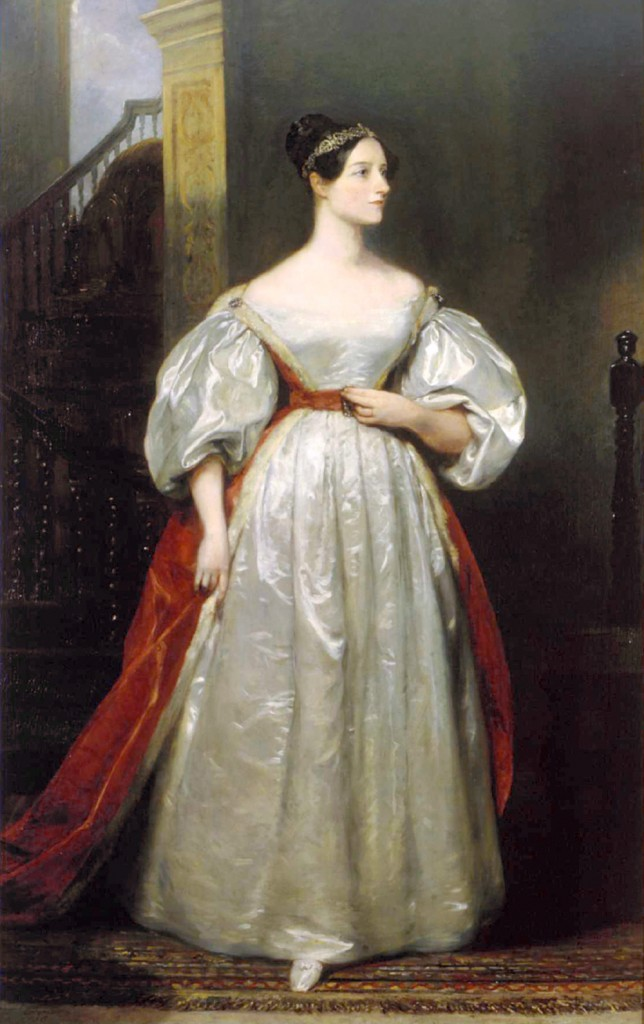 ada_lovelace, por Margaret Sarah Carpenter, 1836.