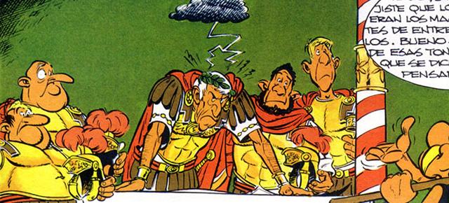 Secundarios de cómic: Julio César. La dignidad del humor serio
