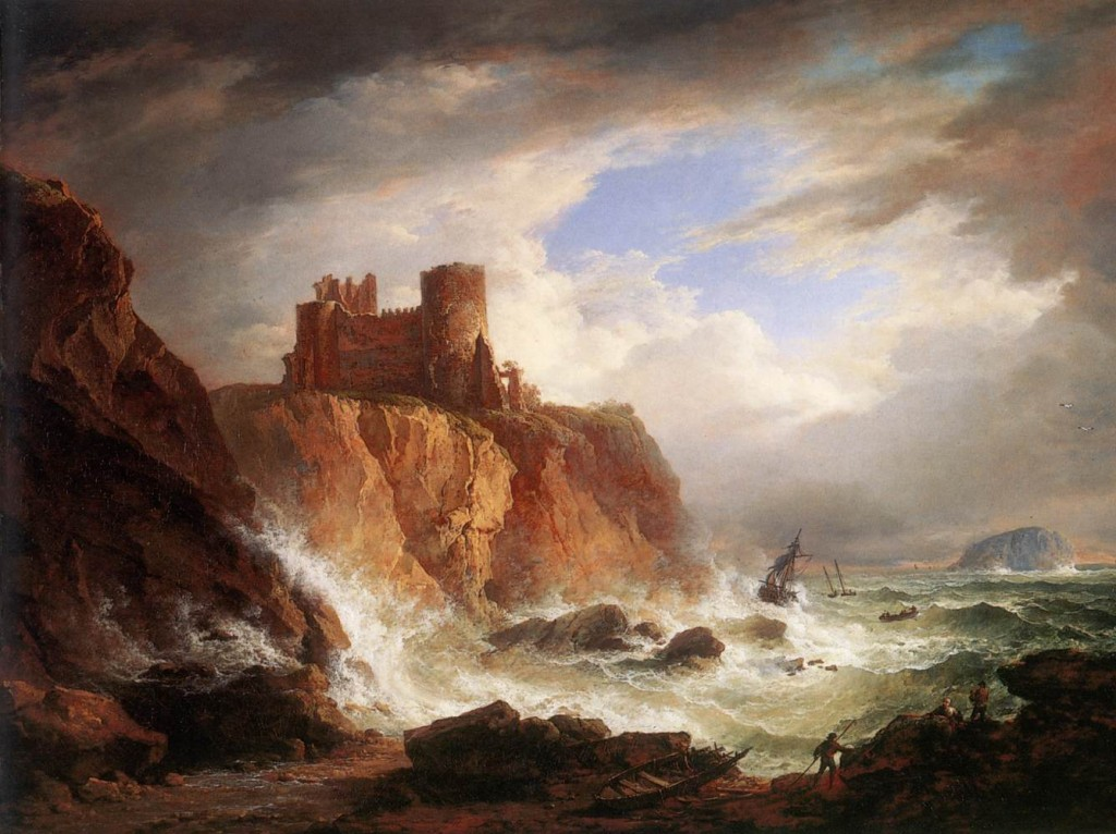Alexander_Nasmyth_-_A_View_of_Tantallon_Castle_-_WGA16442