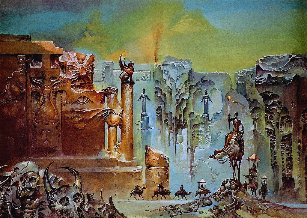 Bruce penngnton, From The New Sun To Dune