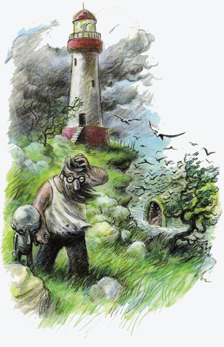 Pinocchio, Winshluss: Y pescó con la nariz