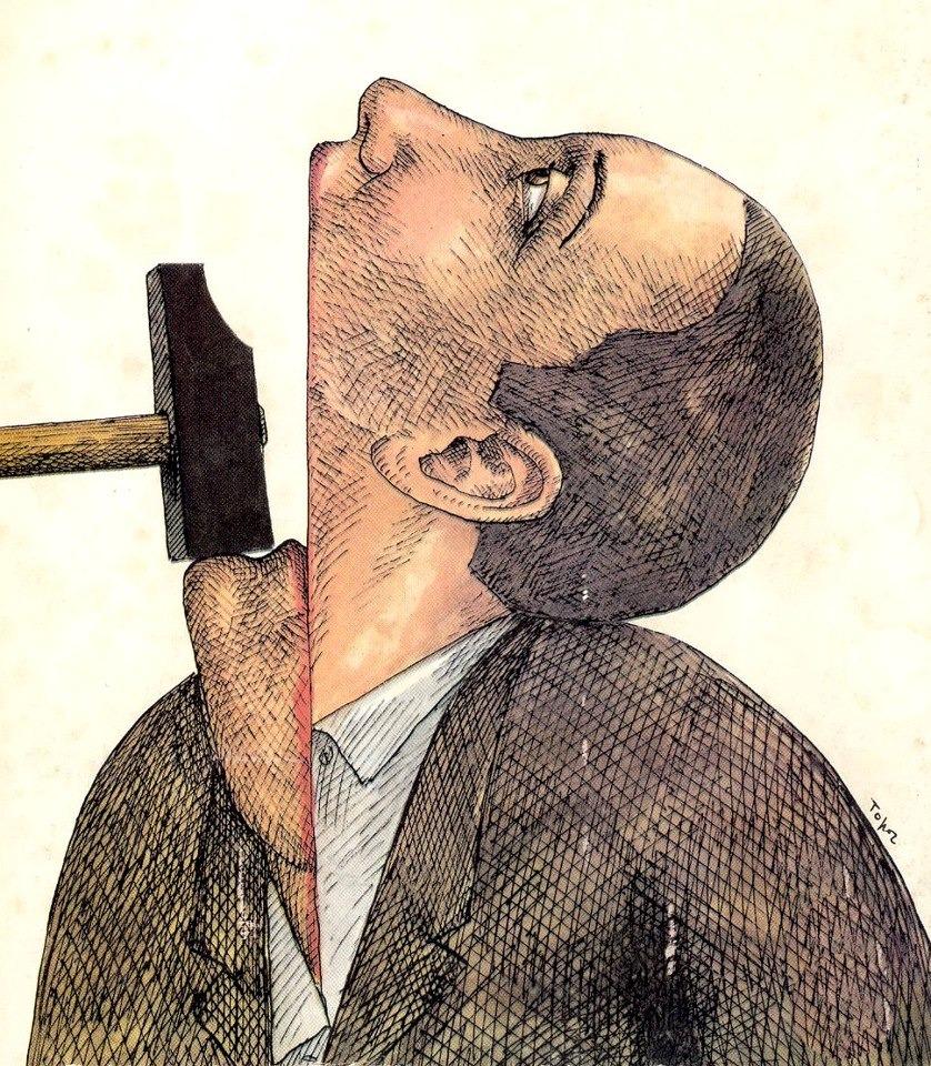 topor, Shut Up, 1976