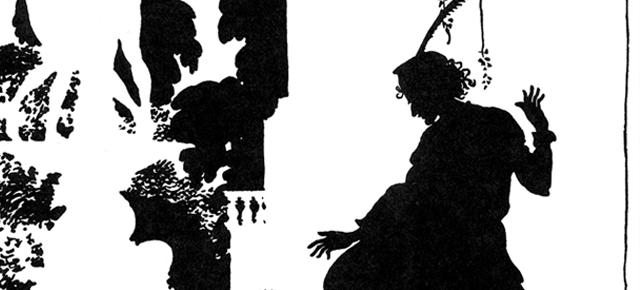 La Bella Durmiente y Cenicienta, Charles S. Evans/ Arthur Rackham: En sombras chinescas