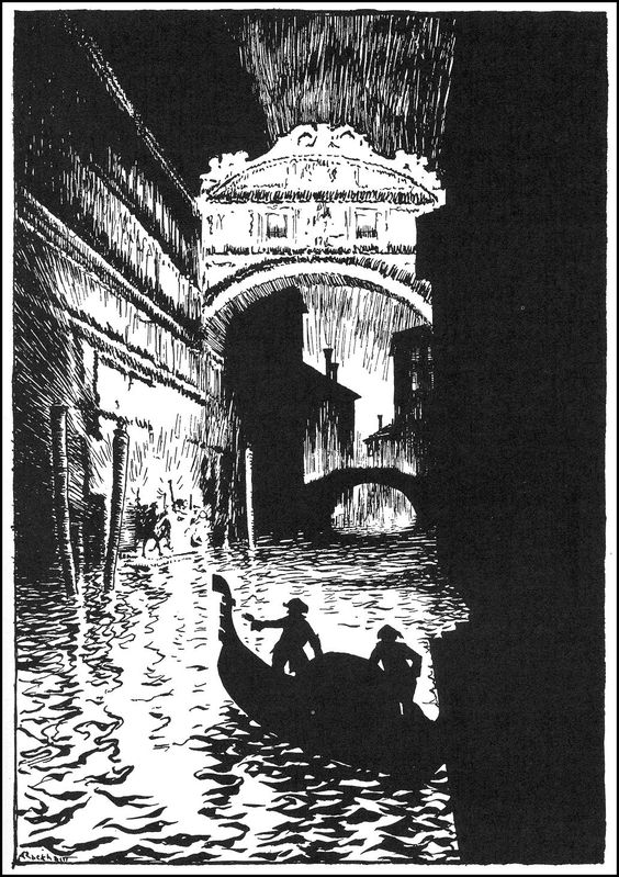 The Assignation - Tales of Mystery & Imagination by Edgar Allan Poe. First published in 1935