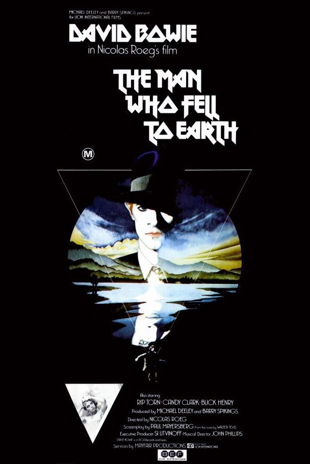 Cartel para la película; nótese la dureza de la tipografía. Quizás vaticinaba que el mismo año que desaparecía Bowie, los Iron Maiden vivirían una segunda juventud en cuanto a tendencia.