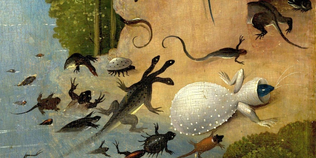 La guerra de las salamandras, Karel Čapek: Siseos y risas al filo de la realidad