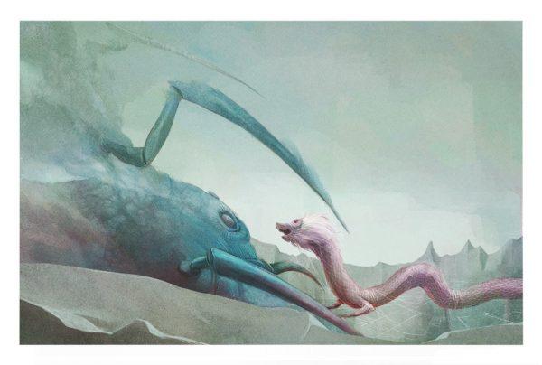 Ygramul, die Viele. Ilustración de Jordi Solano para Fabulantes.