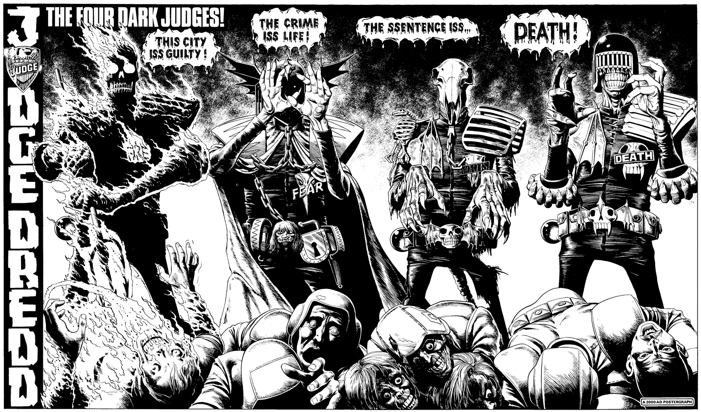 Dark-judges-juez-dredd Fabulantes