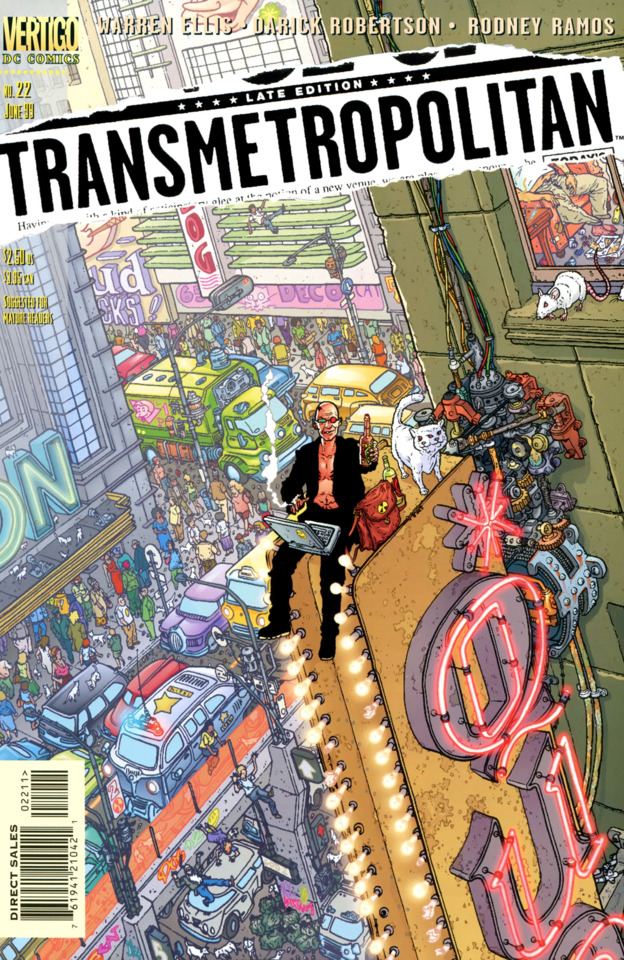 Transmetropolitan cover 2 fabulantes