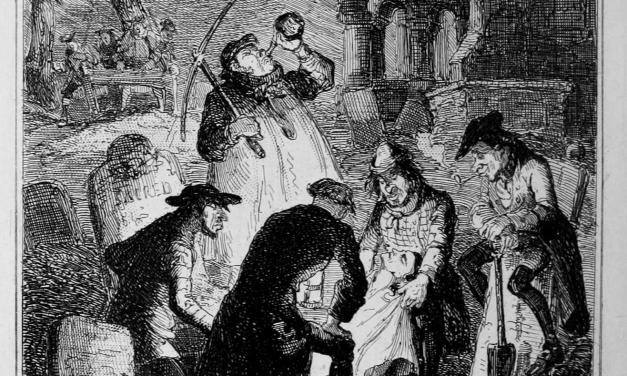 El ladrón de cadáveres, Robert Louis Stevenson: La oscura y mórbida tradición de los profanadores de tumbas