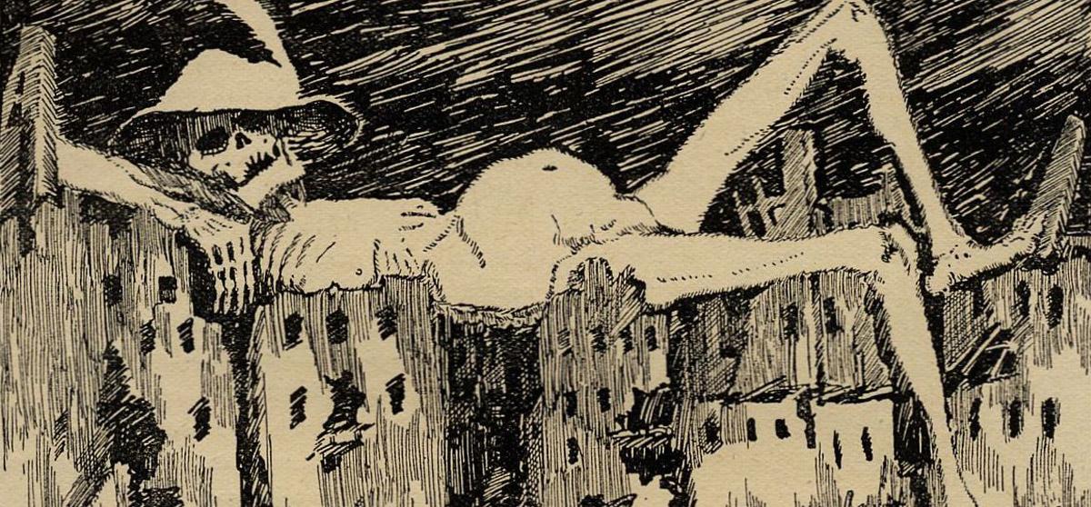 Lemuria: cuentos extraños y malditos, Karl Hans Strobl: Maldito y nazi