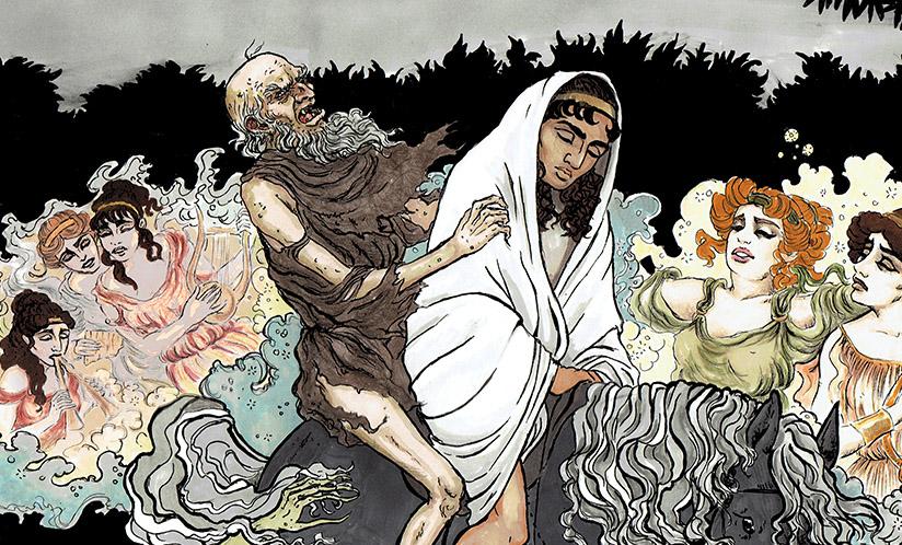 El relato, de Charles Nodier, fragmento de Smarra, o los demonios de la noche