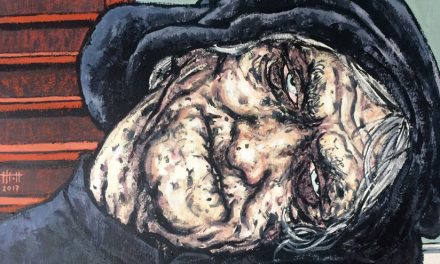 Janet, la torcida, R. L. Stevenson, incluido en la antología sobre brujería Bienvenidos al Sabbath