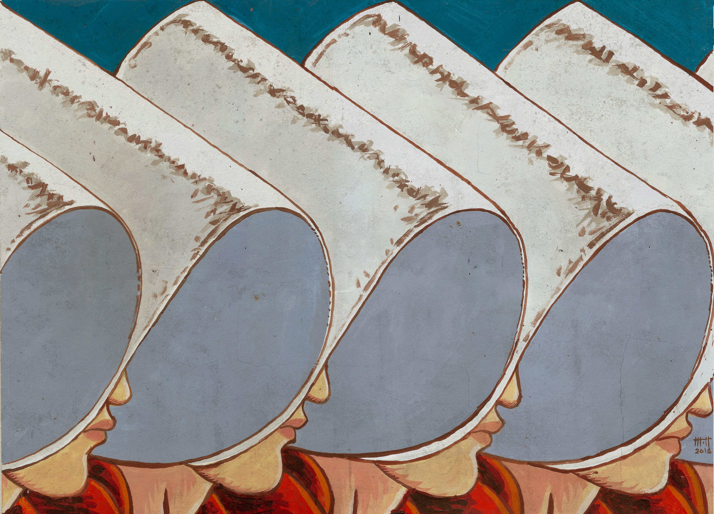 El cuento de la criada. Ilustración de Mariano de Henestrosa para Fabulantes