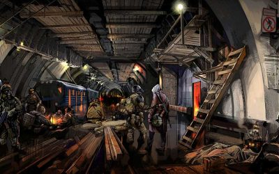 Metro 2033, Dmitry Glukhovsky: Una visión post-apocalíptica