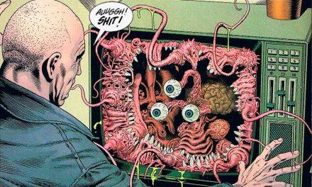 El Asco, Grant Morrison/ Chris Weston: Las tripas que vomitan el universo