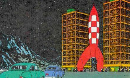 Tintín, el primer astronauta lunar