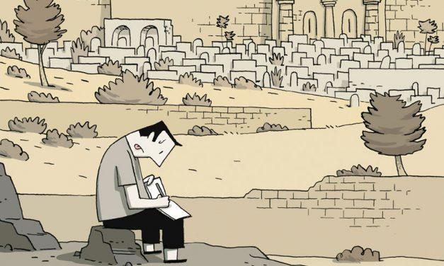Crónicas de Jerusalén, Guy Delisle: La ciudad como síntoma de una crisis social