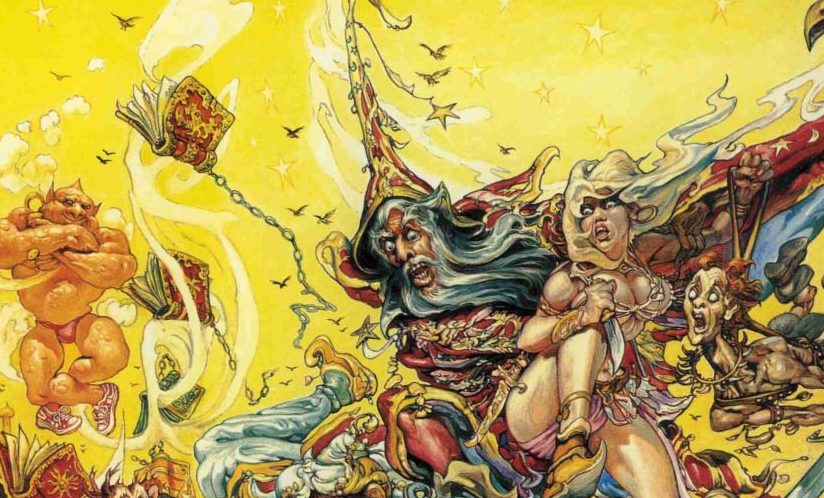 Rechicero, Terry Pratchett: Y Rincewind hizo magia